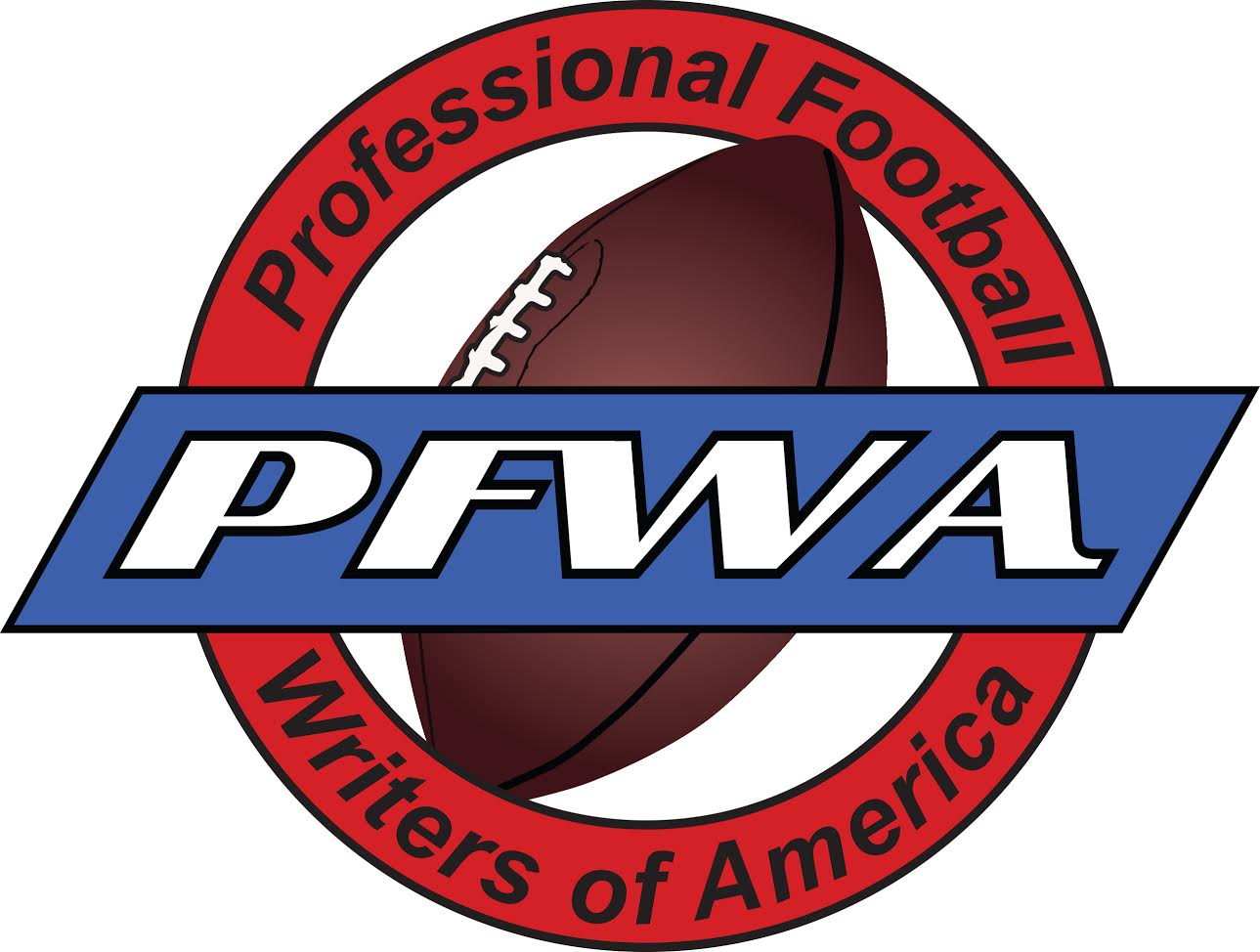 Professional Football Writers of America logo