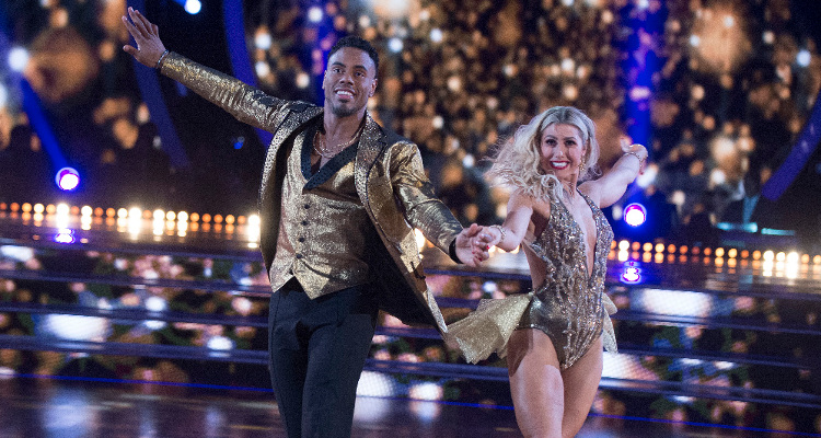 Rashad Jennings on Dancing with the Stars (DWTS)