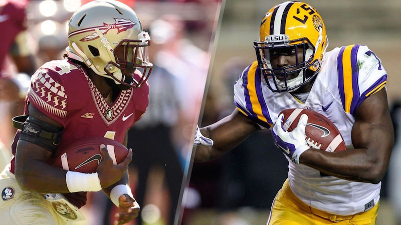 Dalvin Cook (left), Leonard Fournette (right)