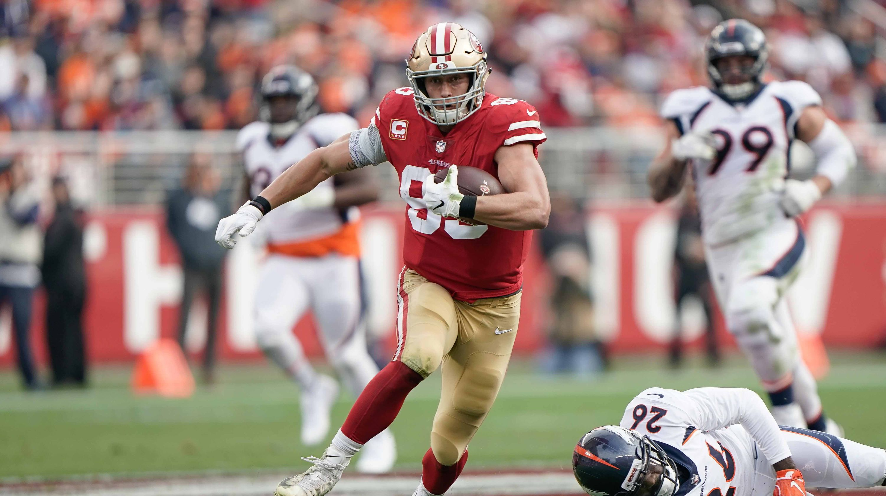 George Kittle, TE, San Fran
