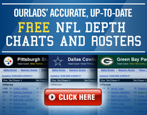 Ourlads' NFL Depth Charts and Rosters